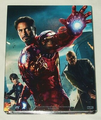 Marvel's The Avengers International Collector's Set (Blu-ray, 2012, 6-Disc Set)