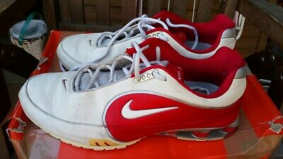 low priced 20746 96b82 Nike Shox Electric in Rot - Weiß Gr. 12   46 tn Air Max
