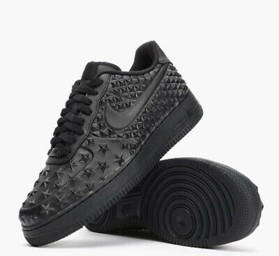 uk availability 39e5d f5293 NEW Sz 18 Nike Air Force 1 LV8 VT STAR Independence Day Triple Black 789104-