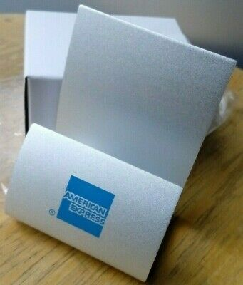 American Express AMEX : Business card holder - New (Buy 6 Get 1 Free)