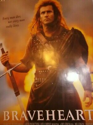BRAVEHEART Movie PHOTO Print POSTER Film Mel Gibson William Wallace Glossy 001