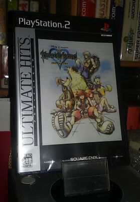 PlayStation 2 Brand New KINGDOM HEARTS FINAL MIX Ultimate Hits sealed Ps2 Japan
