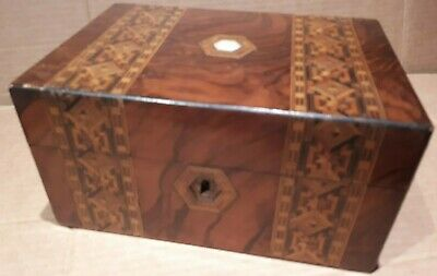 Stunning Antique Marquetry Writing Box