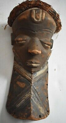 "orig $499-LARGE PENDE MASK!! EARLY 1900S REAL 16"" PROV."