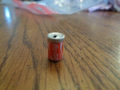 "1984 MINIATURE Doll House 1/2"" Coke Can  Coca-Cola LOOK"