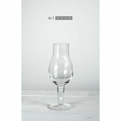 Contemporary Clear Glass Handmade Liqueur Schnapps Glasses set of 4
