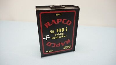 RapCo SS100i Isolated Signal Splitter (19D)