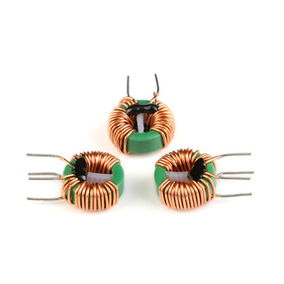 5Pcs 10mH 4A Annular Common Mode Filter Inductor Choke Toroid 0.6 Wire 14x9x5mm