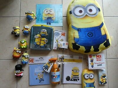 Lot objets Minions Despicable Me