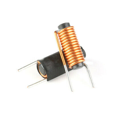 10Pcs 3.3uH Bar Magnetic Inductor 5x20mm 1.2 Wire 12.5T R Type Magnetic Coil