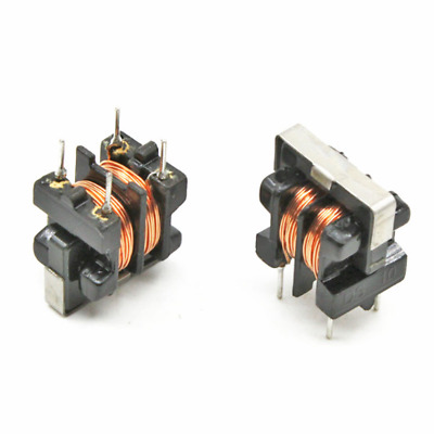 5pcs UU9.8 UF9.8 40mH Common Mode Choke Inductor For Filter PIN Pitch 7x8mm