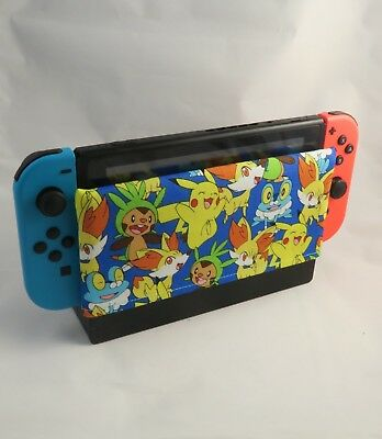 Nintendo Switch Dock Sock - Dock Cover - Screen Protector Pokemon Cotton Sleeve