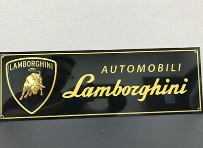 Lamborghini Racing Italian Garage Sign