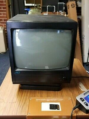 """Vintage American Dynamics AD910A 9"""" CRT  Monitor for Surveillance /Video Editing"""