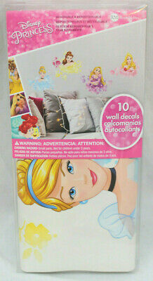 Disney Princess Floral Peel and Stick Wall Decals Aurora Rapunzel Belle /& Cinderella Stickers by Roommates