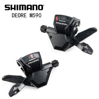 b586156fb89 Shimano Deore M590 9 Speed Trigger Shifter Duo With Cable Set Free Shipping