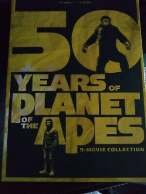 50 Years Of Planet Of The Apes 9 Movies Digital
