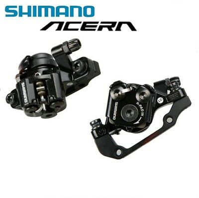 SHIMANO M375 MTB Mechanical Disc Brakes Parts 1 Pair With G3 Disc 1 Pair