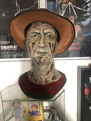 Freddy Krueger Nightmare On Elm Street Life Size Bust