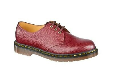 55e441e6614 💥50th Anniversary Dr. Martens Doc MIE 1461 Cherry Red Leather shoes UK11  US12💥