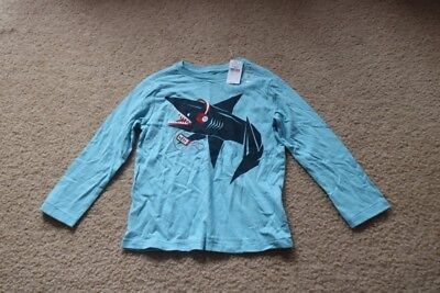 baby Gap Toddler Long Sleeve T-Shirt Blue Size 4 Years