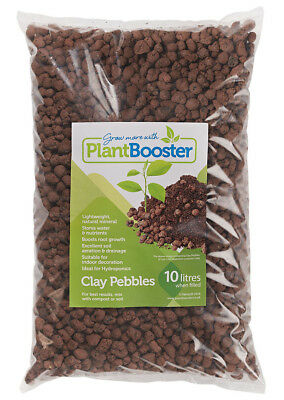 PlantBooster PREMIUM CLAY PEBBLES (10-16mm) HYDROPONIC GROWING MEDIA (1-50 Lts)
