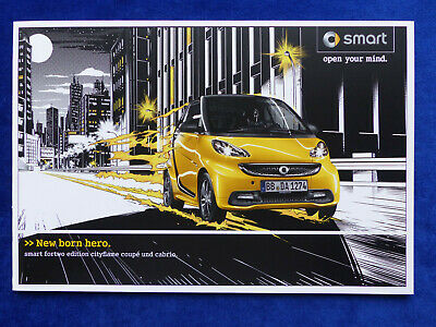 Smart fortwo edition cityflame - limited 1 of 2400 - Prospekt Brochure 12.2012