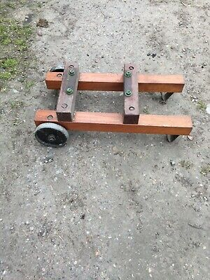 stationary engine trolley Drilled For A Petter