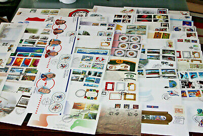 CANADA - 1998-2002 - COLLECTION OF COMMEMORATIVE FDC's 150+ ALL DIFFERENT