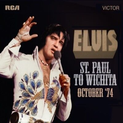 Elvis FTD 2X CD St. Paul to Wichita October '74 Brand New Sealed IN STOCK