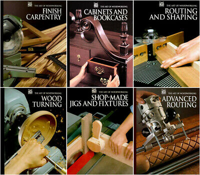 The Art of Woodworking Book's Magazine's DVD **COMPLETE RUN** + Pdf's Wood Fine
