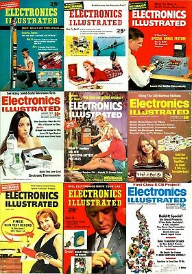 Electronics Illustrated Magazines DVD - 104 Archive Issues + Extras Popular PDFs