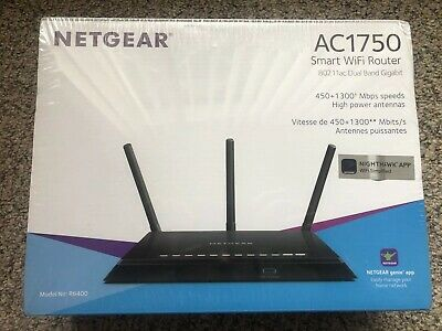 NETGEAR SMART WIFI Router With Dual Band Gigabit R6400