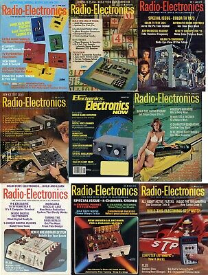 Radio Electronics & Electronics Now  FULL Archive - 415 Issues DVD PDF's Popular