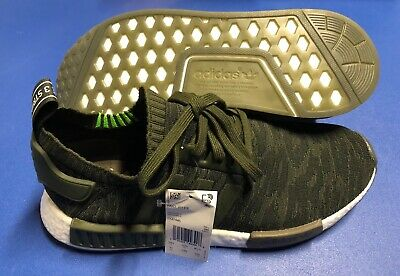 b009b0a3f Adidas NMD R1 PK Primeknit CQ2445 Men s NMD R1 Size 11 Night Cargo   Green