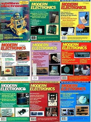 Modern Electronics Magazines DVD -113 Archive Issues +Extras PDFs Computer Craft