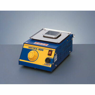 "Hakko FX300-03 Analog 120V Solder Pot, Lead-Free Compatible, Includes 2"" Square"