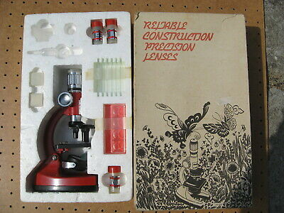 Vintage 1970's USSR Cold War Era Kid's Analyt 1 Microscope - Ships FREE In USA