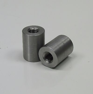 "Weld-On 5//16-18 Threaded Mounting Tabs 1//4/"" Thick Steel DIY MADE IN USA QTY OF 2"