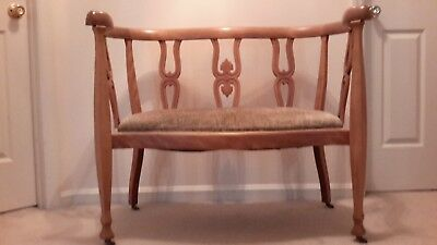 antique settee and corner chair