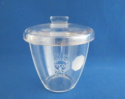 VYCOR® Crucible with Cover 50mL