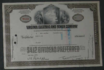 Virginia Electric and Power Company 1974 5 Shares .