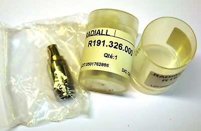 3.5 mm(M)-to-N(F) adapter Radiall R191.326.000 NEW 2 pcs