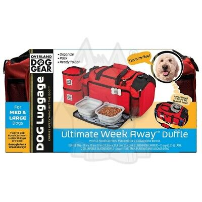 Overland Dog Gear Ultimate WeekAway Duffle