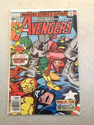 """Avengers 157 Vol 1 Key Cameo Appearance Of Ultron """"A Ghost Of Stone"""""""