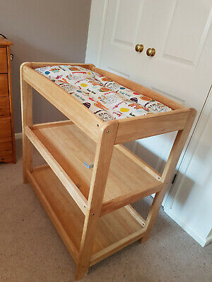 Mamas & Papas pine change table with shelves in excellent condition