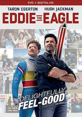 Eddie the Eagle (DVD, 2016) Hugh Jackman, Taron Egerton, Christopher Walken