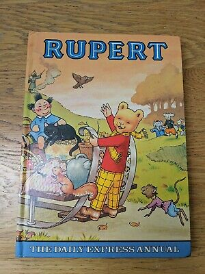 Rupert Bear Daily Express Annual 1978 Not Price Clipped Exct Condition*