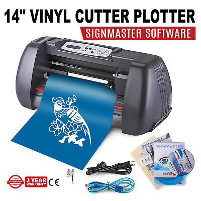 """Vinyl Cutter Plotter Cutting 14"""" Sign Making Print decoration Drawing Tools"""