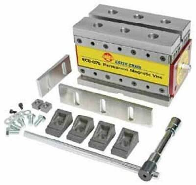 """Earth-Chain ECB-120  7.3""""x4.2""""x4.2"""" MagVise Permanent Magnetic Vise for CNC Mill"""